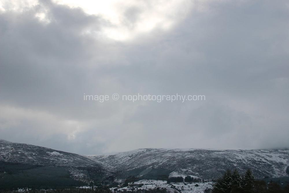 Winter landscape, Wicklow, Ireland