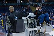 KELOWNA, CANADA - OCTOBER 23: Orchard Plaza Zamboni Rider at the Kelowna Rockets game on October 23, 2018 at Prospera Place in Kelowna, British Columbia, Canada. (Photo By Cindy Rogers/Nyasa Photography, *** Local Caption ***
