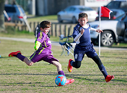 28 February 2015. New Orleans, Louisiana.<br /> U9 New Orleans Jesters Elites, team green v PAC.<br /> Photo; Charlie Varley/varleypix.com