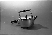 20-25/05/1966<br /> 05/20-25/1966<br /> 20-25 May 1966<br /> Competition prizes photographed at Lensmen Studio for Esso (Ireland) Ltd. An electric kettle.