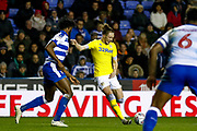 Leeds United defender Luke Ayling (2) in action  during the EFL Sky Bet Championship match between Reading and Leeds United at the Madejski Stadium, Reading, England on 12 March 2019.