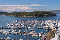 Roche Harbor Marina San Juan Island Washington