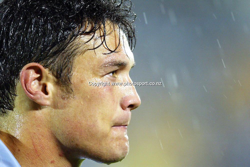 6th September, 2003. NRL Round 26. Ericsson Stadium, Auckland, New Zealand. New Zealand Warriors v Wests Tigers.<br />Logan Swann.<br />The Warriors won the match, 32 - 16.<br />Pic: Andrew Cornaga/Photosport