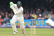 Haris Sohail of Pakistan on DAy Two of the NatWest Test Match match at Lord's, London<br /> Picture by Simon Dael/Focus Images Ltd 07866 555979<br /> 25/05/2018