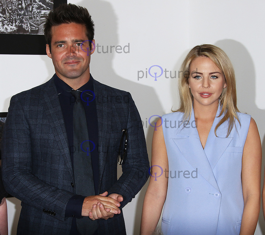 Spencer Matthews & Lydia Rose Bright, Prince's Trust - Tomorrow's Talent Launch, Canvas Studios, London UK, 20 April 2016, Photo by Brett D. Cove