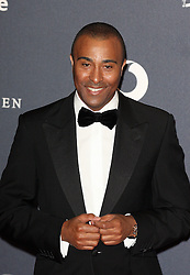 COLIN JACKSON arrives at the Laureus Sport Awards held at the Queen Elizabeth II Centre, London, Monday February 6, 2012. Photo By i-Images