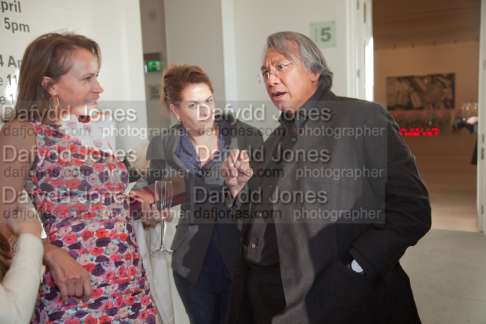 ANDREA DELLAL; TRACEY EMIN; DAVID TANG, Phillips de Pury and Company.- BRIC- Exhibition and auction celebrating Brazil, Russia, India and China at the Saatchi Gallery. London.  17 April 2010.