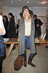 SIOBHAN HEWLETT at the launch party for Club Monaco at Browns, 32 South Molton Street, London on 16th February 2011.