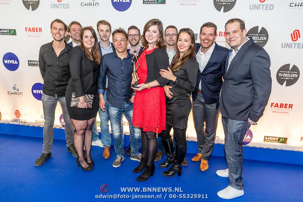 NLD/Amsterdam//20170328 - Uitreiking TV-beelden 2017, ...........
