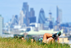 &copy; Licensed to London News Pictures. 23/06/2017 <br /> Another sunny weather day in London and the South East.<br /> People enjoying the sunshine in Greenwich Park,Greenwich,London today.<br /> Photo credit: Grant Falvey/LNP
