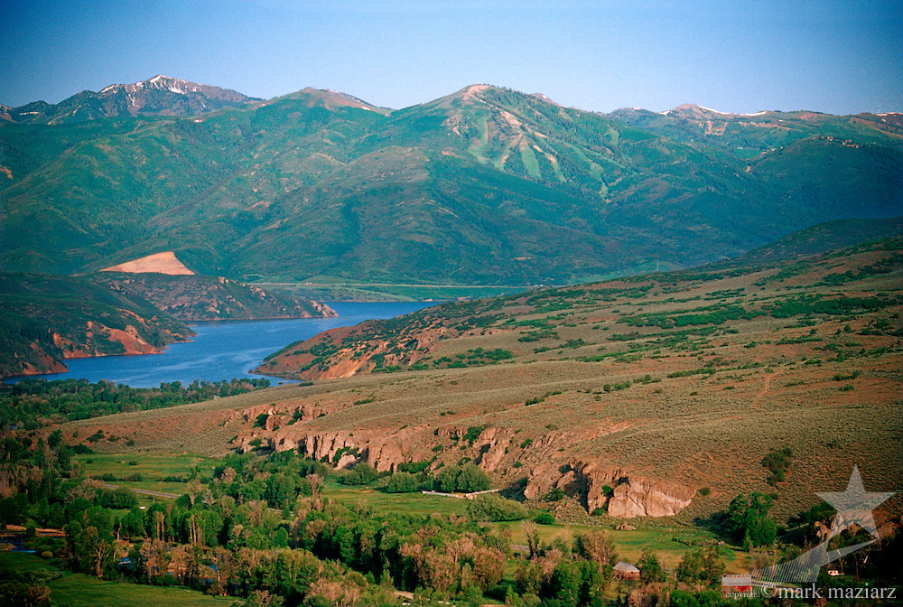 Provo River through Woodland & Francis, Utah, USA