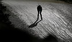 04.01.2012, DKB-Ski-ARENA, Oberhof, GER, E.ON IBU Weltcup Biathlon 2012, Staffel Frauen, im Bild Biathletinnen fahren Berg herab - Feature .// during relay Ladies of E.ON IBU World Cup Biathlon, Thüringen, Germany on 2012/01/04. EXPA Pictures © 2012, PhotoCredit: EXPA/ nph/ Hessland..***** ATTENTION - OUT OF GER, CRO *****