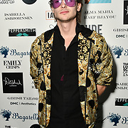 Jack McEvoy Arrivers at Nina Naustdal catwalk show SS19/20 collection by The London School of Beauty & Make-up at Bagatelle on 26 Feb 2019, London, UK.
