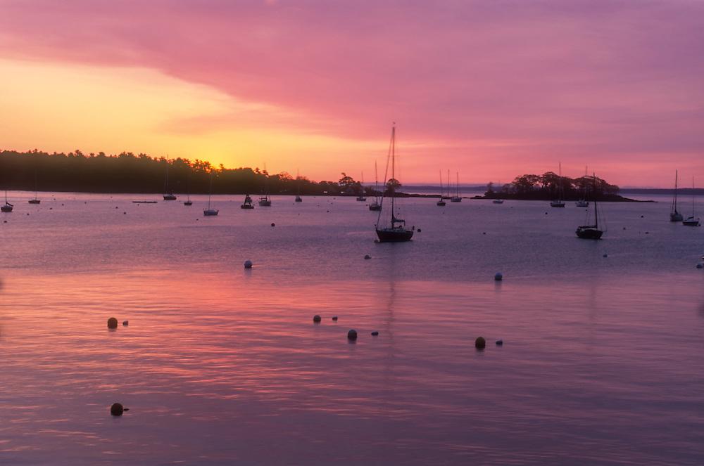 Sunrise at Penobscot Bay