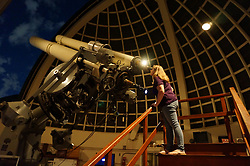 March 27, 2019 - California, U.S. - When JOAN STUPIK was a child, her parents bought her a mini-planetarium that she could use to project the stars onto her bedroom ceiling. While she didn't always plan to become an engineer, she always liked math and science and credits her high school guidance counselors for steering her in the right direction to become an engineer. Now she's part of the team developing NASA's Europa Clipper mission that will explore Jupiter's moon Europa to see whether the icy moon could harbor conditions suitable for life. (Credit Image: © JPL-Caltech/NASA via ZUMA Wire/ZUMAPRESS.com)