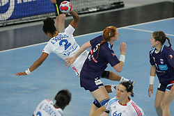 Goudjo Amelie of France during handball match between National teams of Slovenia and France of 2011 Women's World Championship Play-off, on June 12, 2011 in Arena Stozice, Ljubljana, Slovenia. (Photo By Urban Urbanc / Sportida.com)