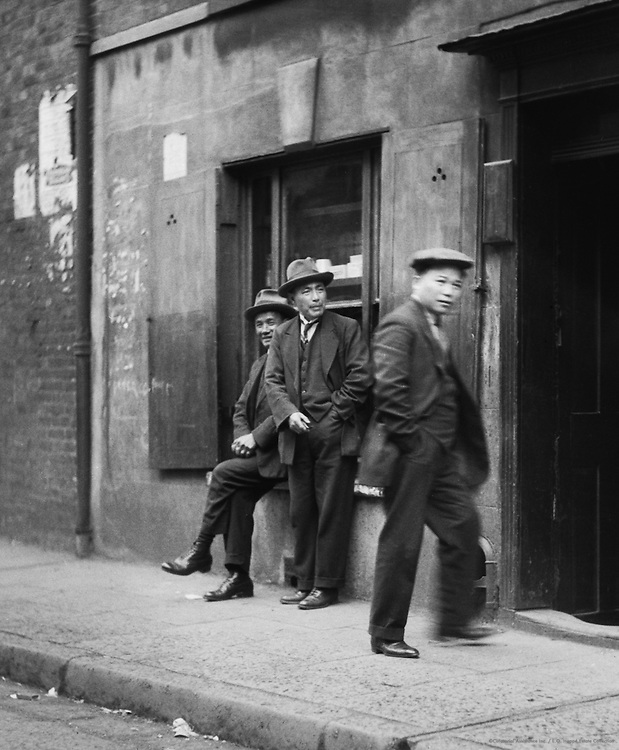 Types, Chinatown, London, 1933