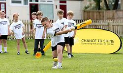 Children play cricket based games during National Cricket Week - Mandatory by-line: Robbie Stephenson/JMP - 22/06/2016 - FOOTBALL - Winsham Primary/Avishayes Community Primary - Chard, United Kingdom  - Chance To Shine - National Cricket Week