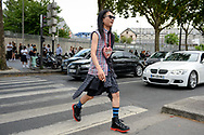 Plaid Look, Outside Vetements SS2019