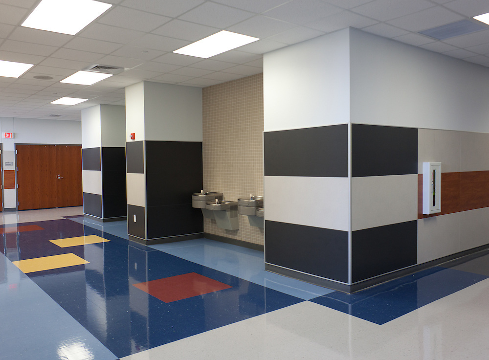 Vandergrift High School<br /> Building 1<br /> Corridor