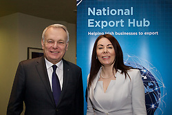 The French Minister of Foreign Affairs briefs Irish SMEs on export opportunities<br />