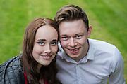 Sophie McLaughlan & Thomas Maben at the Long Cram Jam 2016 at Haddington, East Lothian