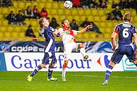 Bernardo Silva / Jesper Juelsgaard  - 21.01.2015 - Monaco / Evian Thonon   - Coupe de France 2014/2015<br /> Photo : Sebastien Nogier / Icon Sport