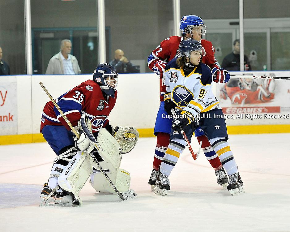 Ontario Junior Hockey League Game Action Between Buffalo And