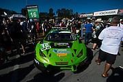 October 1, 2016: IMSA Petit Le Mans, #16 Richard Antinucci, Spencer Pumpelly, Corey Lewis, Change Racing, Lamborghini Huracán GT3