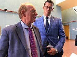 DA SX AVVOCATI EUGENIO GALLERANI E GIACOMO FORLANI<br /> UDIENZA TENTATO OMICIDIO LUCIA PANIGALLI