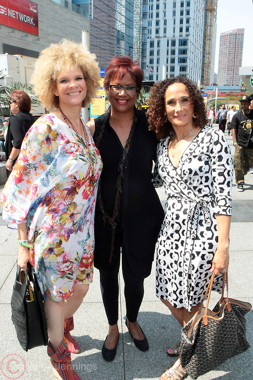 Los Angeles, CA-June 29:  (L-R) Media Personality Michaela Angela Davis, Media Personality/Author/Publisher Harriette Cole and Author/Dr. Tricia Rose attend the 2013 BET Experience held at LA Live on June 29, 2013 in Los Angeles, CA. © Terrence Jennings