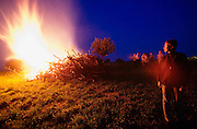 "Easter celebrations. Traditional bonfires (""Osterfeuer""), an ancient tradition meant to chase away all evil spirits."