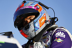 March 2, 2018 - Las Vegas, Nevada, United States of America - March 02, 2018 - Las Vegas, Nevada, USA: Darrell Wallace Jr (43) hangs out on pit road during qualifying for the Pennzoil 400 at Las Vegas Motor Speedway in Las Vegas, Nevada. (Credit Image: © Justin R. Noe Asp Inc/ASP via ZUMA Wire)