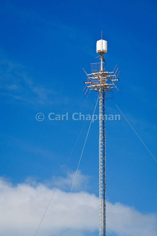 Television broadcast antenna on communications tower in Cooktown, Queensland