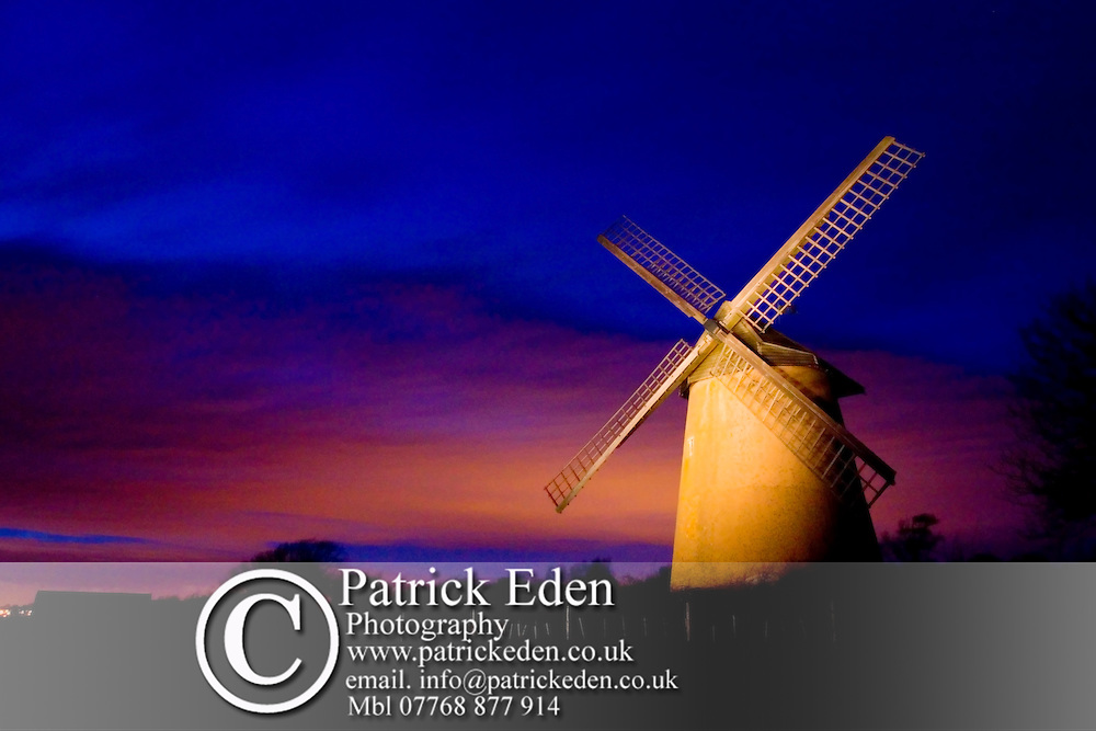 National Trust. Bembridge Windmill. Light Painting Photographs of the Isle of Wight by photographer Patrick Eden photography photograph canvas canvases