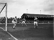12/03/1961<br /> 03/12/1961<br /> 12 March 1961<br /> F.A.I. Cup 2nd round: Shamrock Rovers v Waterford at Glenmalure Park, Milltown, Dublin.