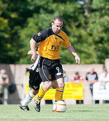Annan Athletic's Ian Harty..Annan Athletic 1v 2 Dunfermline, Scottish Communities League Cup 1st round, 30th July 2011..©Pic : Michael Schofield.