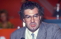 Andrew Ellis, prominent member, LIberal Party, UK, speaking, annual conference, September 1986, 19860922AE2<br />