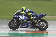#46 Valentino Rossi, Italian: Movistar Yamaha MotoGP during the MotoGP Round 19 Gran Premio Motul de la Comunitat Valenciana Circuit Ricardo Tormo, Cheste, Valencia, Spain on 18 November 2018. Picture by Graham Holt
