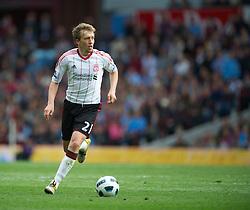 BIRMINGHAM, ENGLAND - Sunday, May 22, 2011: Liverpool's Lucas Leiva in action against Aston Villa during the Premiership match at Villa Park. (Photo by David Rawcliffe/Propaganda)