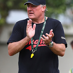 DURBAN, SOUTH AFRICA, December 10. 2015 - Gary Gold (Sharks Director of Rugby) during The Cell C Sharks Pre Season training for the 2016 Super Rugby Season at Growthpoint Kings Park in Durban, South Africa. (Photo by Steve Haag)<br /> images for social media must have consent from Steve Haag