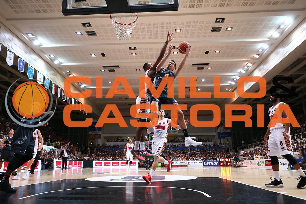 Diego Flaccadori<br /> Dolomiti Energia Aquila Basket Trento - Umana Reyer Venezia <br /> Lega Basket Serie A 2016/17 Finali Gara 04<br /> Trento, 16/06/2017<br /> Foto Ciamillo-Castoria