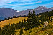 Ravnets ridge in Balkan Mountains