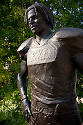 AUSTIN, TX - SEPTEMBER 14: A statue of former Texas Longhorns running back Ricky Williams on display at Darrell K Royal-Texas Memorial Stadium on September 14, 2013 in Austin, Texas.  (Photo by Cooper Neill/Getty Images) *** Local Caption *** Ricky Williams