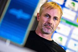 Head coach Ivo Jan at press conference of HK SZ Olimpija before new season 2020-21, on June 22, 2020 in Hala Tivoli, Ljubljana, Slovenia. Photo by Matic Klansek Velej / Sportida