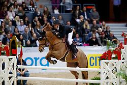 Staut Kevin, FRA, Ayade de Septon et HDC<br /> Gothenburg Horse Show FEI World Cups 2017<br /> © Hippo Foto - Stefan Lafrentz<br /> 24/02/17