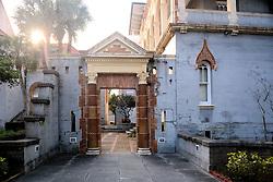 Entry, Fellowship Hall, Flagler Memorial Presbyterian Church, No. 1