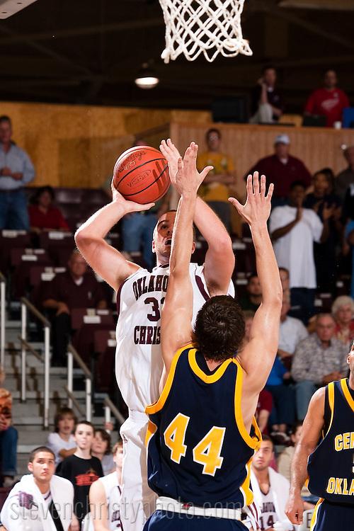 OC Men's Basketball vs UCO.November 4, 2008.79-76 loss