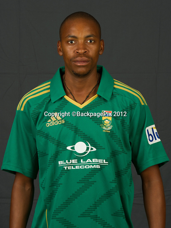 Aaron Phangiso of South Africa