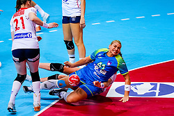 02-12-2019 JAP: Slovenia - Norway, Kumamoto<br /> Second day 24th IHF Women's Handball World Championship, Slovenia lost the second match against Norway with 20 - 36. Aneja Beganovic #41 of Slovenia